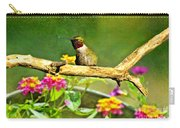 Hummingbird Attitude Carry-all Pouch