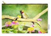 Hummingbird Attitude - Digital Paint 1 Carry-all Pouch