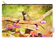 Hummingbird Attitude - Digital Paint 4 Carry-all Pouch