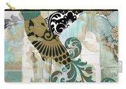 Hummingbird Batik Carry-all Pouch