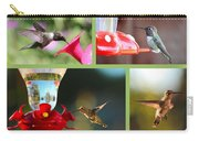Hummingbird Collage 2 Carry-all Pouch