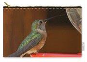 Hummingbird De Carry-all Pouch