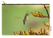 Hummingbird Drinking Nectar Carry-all Pouch