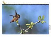 Hummingbird Feeling Frisky 1 Carry-all Pouch