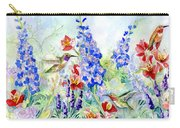 Hummingbird Garden In Spring Carry-all Pouch