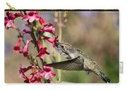 Hummingbird Haven  Carry-all Pouch