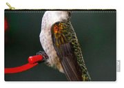 Hummingbird In Profile Carry-all Pouch