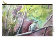 Hummingbird In The Garden Carry-all Pouch