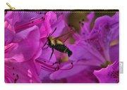 Hummingbird Moth On Azalea Carry-all Pouch
