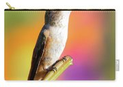 Hummingbird Perched IIi Carry-all Pouch