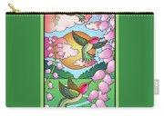 Hummingbird Sunrise Carry-all Pouch