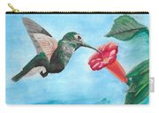 Hummingbird Trumpet Carry-all Pouch
