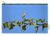 Hummingbird Up High Carry-all Pouch