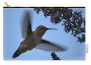 Hummingbird Wings And Butterfly Bush Carry-all Pouch