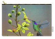 Hummingbirds And Thryallis Carry-all Pouch