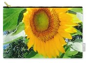 Humongous Sunflower Carry-all Pouch