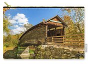 Humpback Covered Bridge In Autumn Colors Carry-all Pouch