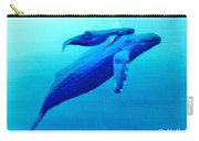 Humpback Mother Whale And Calf  #11 Carry-all Pouch