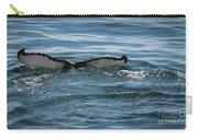 Humpback Tail Fins Carry-all Pouch