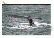Humpback Whale Flute Alaska Carry-all Pouch