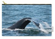 Humpback Whale Of A Tail Carry-all Pouch