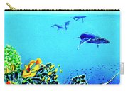 Humpback Whales, Reef Fish #252 Carry-all Pouch