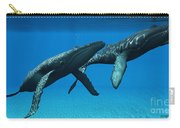 Humpback Whales Surfacing Carry-all Pouch