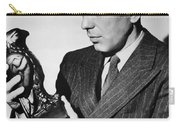 Humphrey Bogart Holding Falcon The Maltese Falcon 1941  Carry-all Pouch