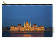 Hungarian Parliament Building At Night In Budapest Carry-all Pouch