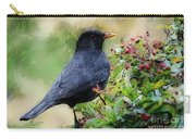 Hungry Blackbird Carry-all Pouch