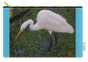 Hungry Great Egret Carry-all Pouch