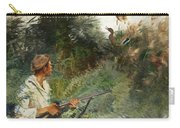 Hunter And Mallards Carry-all Pouch