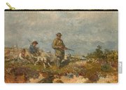 Hunters By A Fox-hole Carry-all Pouch