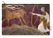 Hunting, 12th Century Carry-all Pouch