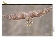 Hunting Barred Owl  Carry-all Pouch
