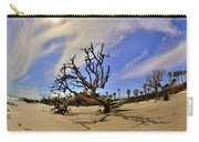 Hunting Island Beach And Driftwood Carry-all Pouch