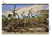 Hunting Island Driftwood Beach Beaufort Sc Carry-all Pouch