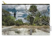 Hunting Island Lighthouse Carry-all Pouch