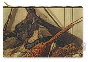 Hunting Trophies Carry-all Pouch by Claude Monet