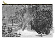 Hunting: Wild Turkey, 1886 Carry-all Pouch