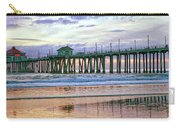 Huntington Beach Pier Panorama Colo Carry-all Pouch