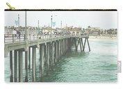 Huntington Beach Pier Carry-all Pouch