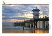 Huntington Beach Pier Sunset Carry-all Pouch