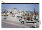Hunts Pier On The Wildwood New Jersey Boardwalk, Copyright Aladdin Color Inc. Carry-all Pouch