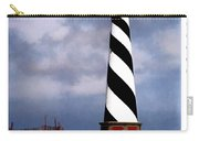 Hurricane Coming At Cape Hatteras Lighthouse Carry-all Pouch