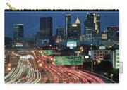 Hustle And Bustle Of Atlanta Roadways Carry-all Pouch