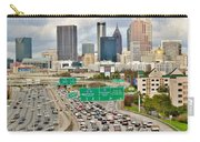 Hustle And Bustle On The Highways And Byways Carry-all Pouch