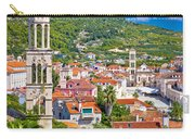 Hvar Architecture And Nature Vertical View Carry-all Pouch