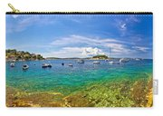 Hvar Yachting Beach Panoramic View Carry-all Pouch