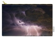 Hwy 52 - Hwy 287 Lightning Storm Image 29 Carry-all Pouch